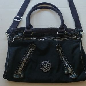 Kipling black crossbody handbag